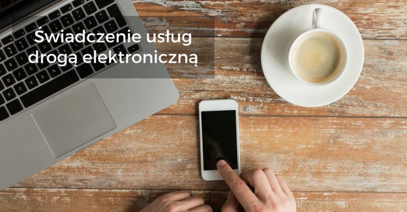 Usługi świadczone drogą elektroniczną