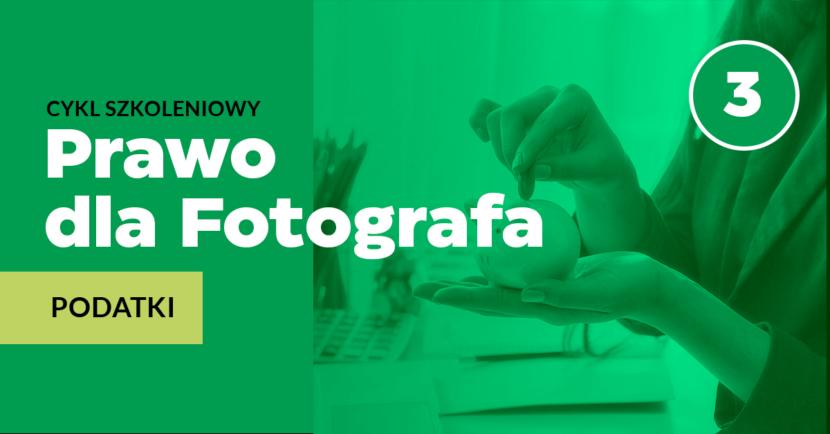 Podatki w pracy fotografa
