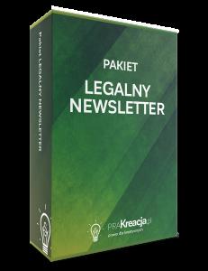 Pakiet Legalny Newsletter