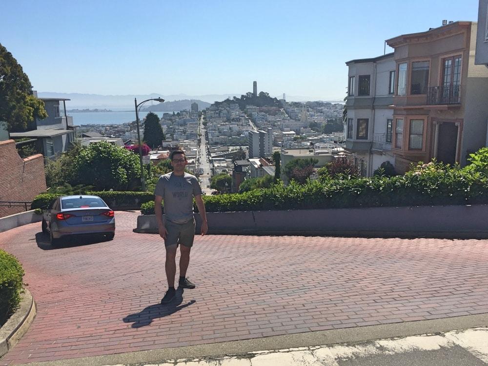 Lombard Street w SF