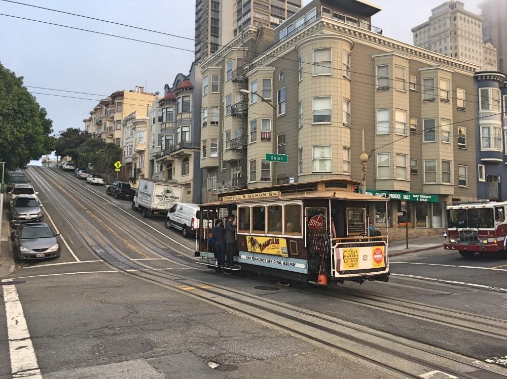 Jedna z ulic w SF