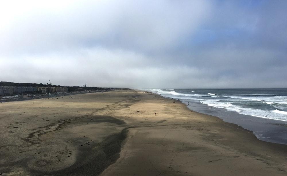 Plaża w SF
