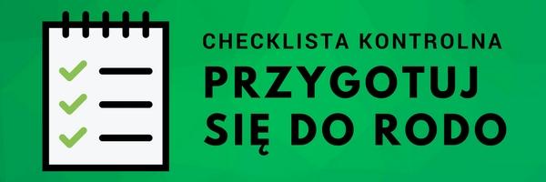 Checklista - przygotuj się do RODO