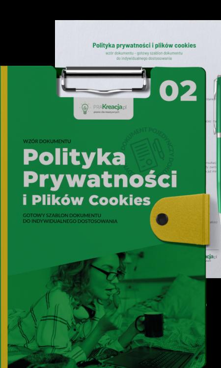 Polityka prywatności i plików cookies – wzór do kupienia