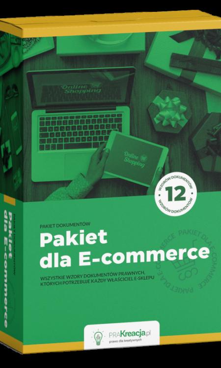 Pakiet dla sklepu internetowego